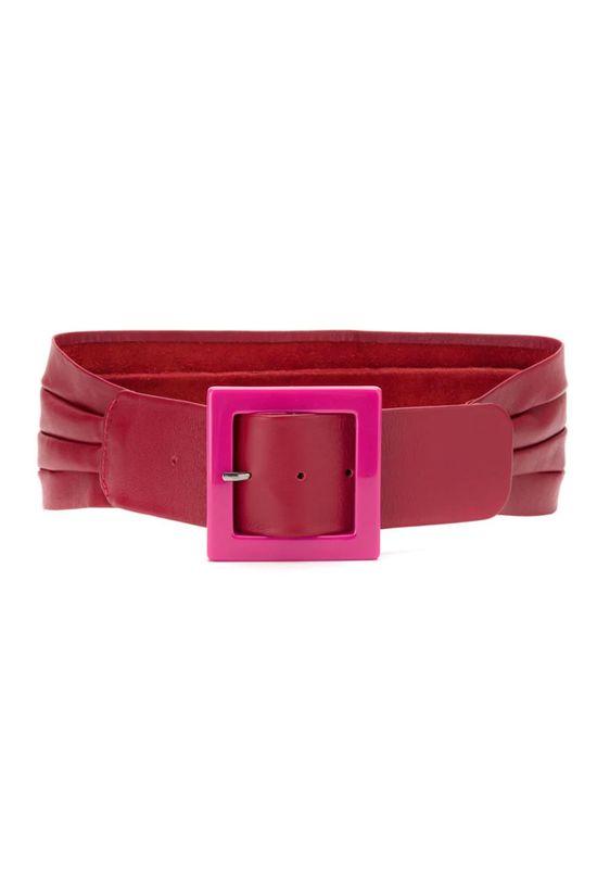 Cinto-Fivela-Acrilico-Pink