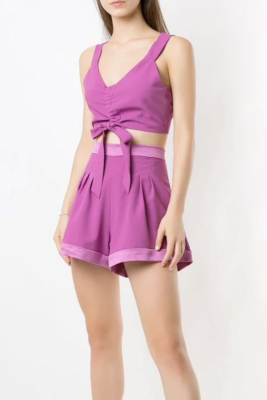 Shorts-Tyrian-Violeta