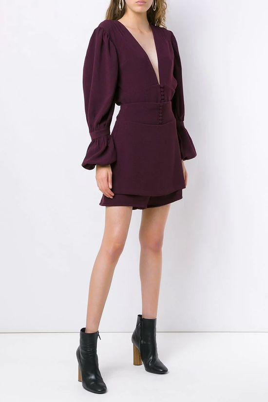 Short-Saia-Imperio-Burgundy