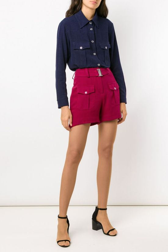 Shorts-Roma-Burgundy