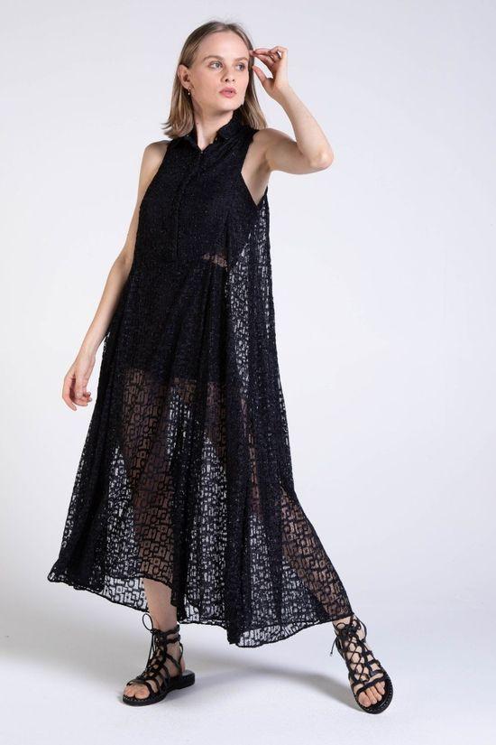 chemise-geo-preto-frente